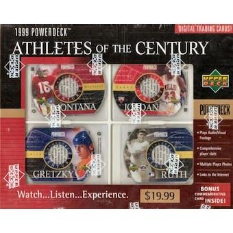 1999 Upper Deck PowerDeck Athletes of The Century Box