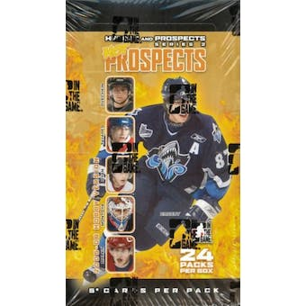 2005/06 In The Game Heroes & Prospects Series 2 Hockey Hobby Box