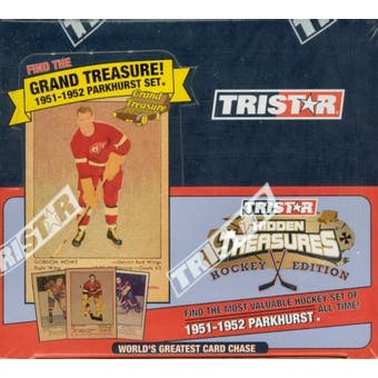 2005/06 TriStar World's Greatest Card Chase Hockey Hobby Box
