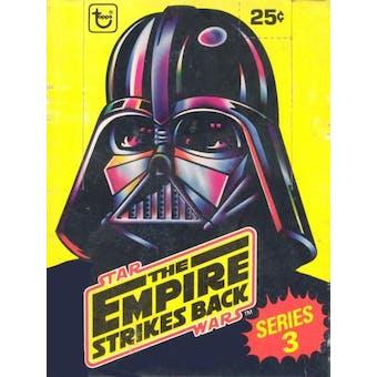 Star Wars Empire Strikes Back Series 3 Wax Box (1980 Topps)