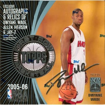 2005/06 Topps First Row Basketball Hobby Box