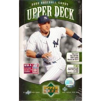 2006 Upper Deck Series 1 Baseball Hobby Box