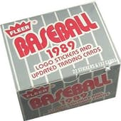 1989 Fleer Update Baseball Factory Set
