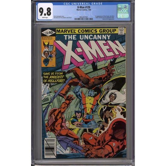 X-Men #129 CGC 9.8 (W) *3832457001*