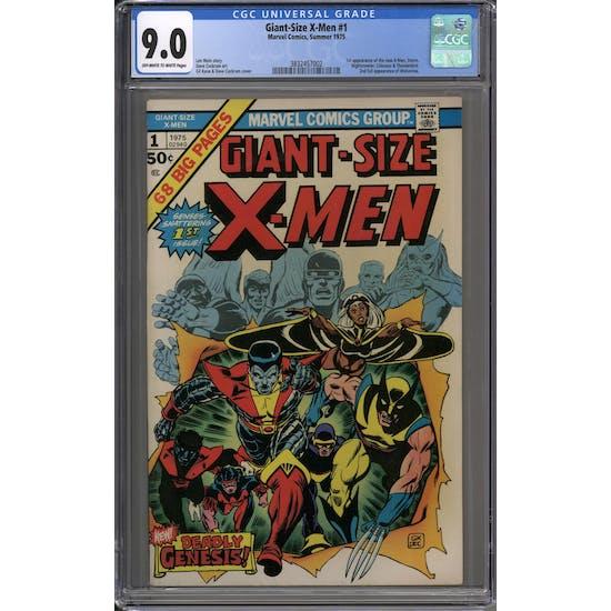 Giant-Size X-Men #1 CGC 9.0 (OW-W) *3832457002*