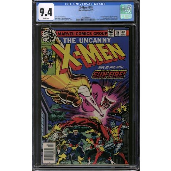 X-Men #118 CGC 9.4 (W) *3833669004*