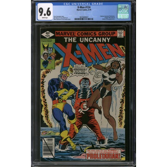 X-Men #124 CGC 9.6 (W) *3833669007*