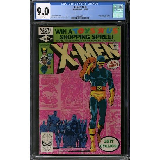 X-Men #138 CGC 9.0 (W) *3833669011*