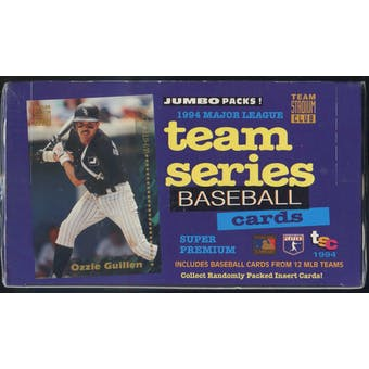 1994 Topps Stadium Club Team Series Baseball Jumbo Box