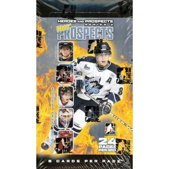 2005/06 In The Game Heroes & Prospects Arena Series 2 Hockey Box (Lot of 6)