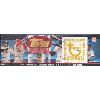 2001 Topps Baseball Factory Set (Box) (Employee Edition)