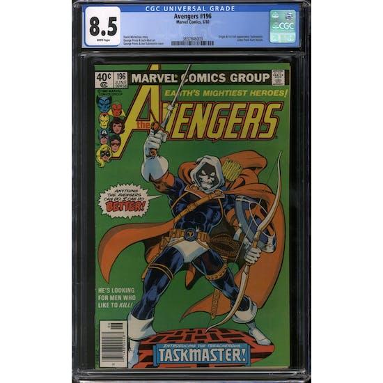 Avengers #196 CGC 8.5 (W) *3837846009*