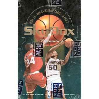 1994/95 Skybox Premium Series 2 Basketball Jumbo Box