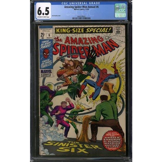 Amazing Spider-Man Annual #6 CGC 6.5 (OW-W) *3845538001*