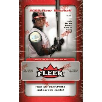 2006 Fleer Baseball 36 Pack Box (Upper Deck)