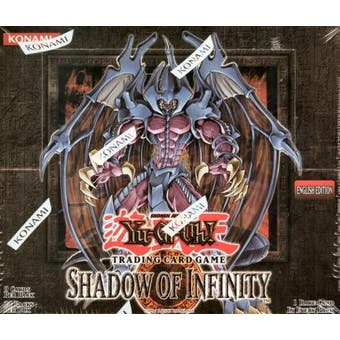 Upper Deck Yu-Gi-Oh Shadow of Infinity Unlimited Booster Box