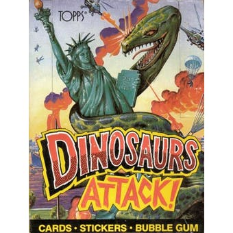 Dinosaurs Attack! Wax Box (1988 Topps)
