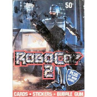 Robocop 2 Box (1990 Topps)