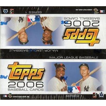 2006 Topps Series 1 Baseball 24 Pack Box
