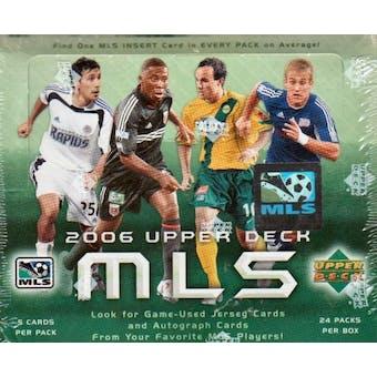 2006 Upper Deck MLS Major League Soccer Hobby Box