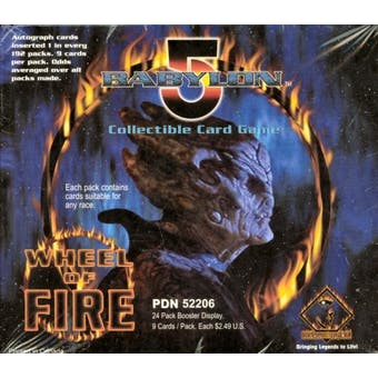 Precedence Babylon 5 Wheel of Fire Booster Box