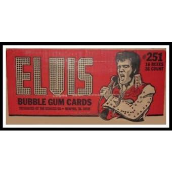Elvis Presley Wax 16-Box Case (1978 Donruss)