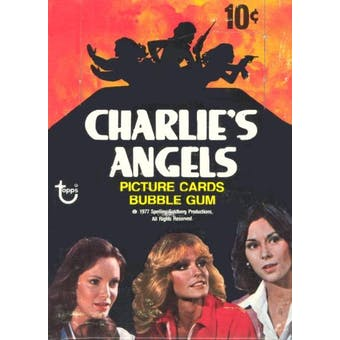 Charlie's Angels Series 1 Wax Box (1977-78 Topps)