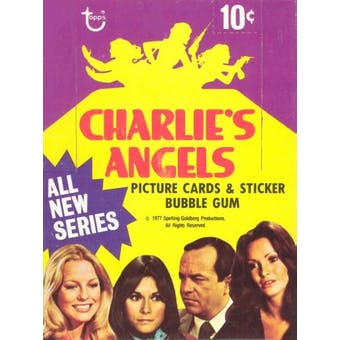 Charlie's Angels Series 3 Wax Box (1977-78 Topps)