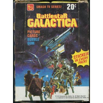 Battlestar Galactica Partial Wax Box (1978 Topps)