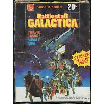 Battlestar Galactica Partial Wax Box (1978 Topps)