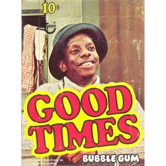 Good Times Wax Box (1975 Topps)