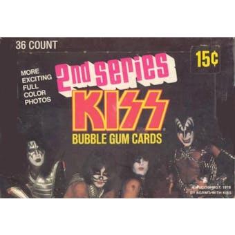 Kiss (The Band) Series 2 Wax Box (1978 Donruss)