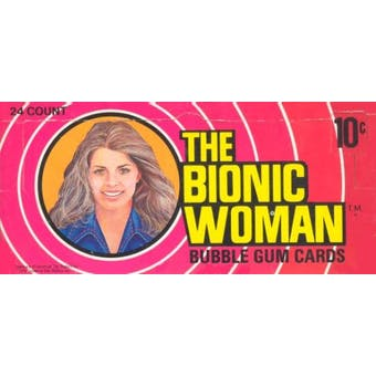 The Bionic Woman Wax Box (1976 Donruss)