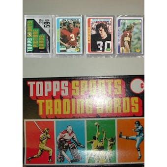 1978 Topps Football Rack Box