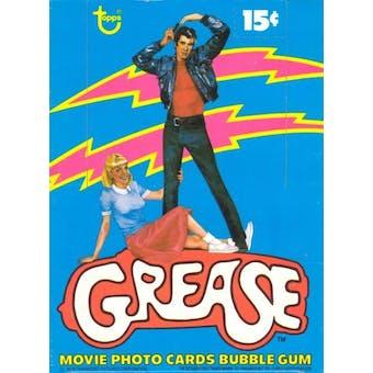 Grease Series 1 Wax Box (1978 Topps)