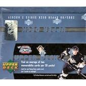 2005/06 Upper Deck Series 2 Hockey 30 Pack Box
