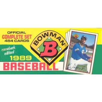 1989 Bowman Baseball Factory Set (colorful box)