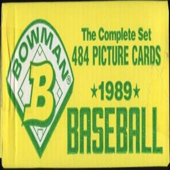 1989 Bowman Baseball Factory Set (yellow box)