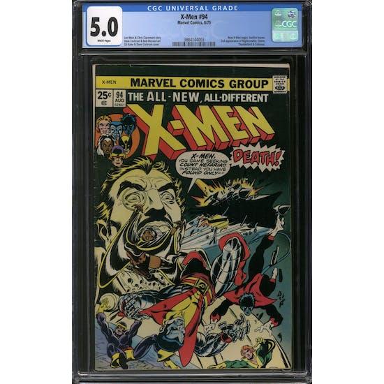 X-Men #94 CGC 5.0 (W) *3884144003*