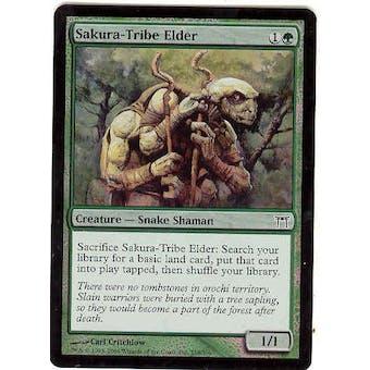Magic the Gathering Champs of Kamigawa Single Sakura-Tribe Elder Foil