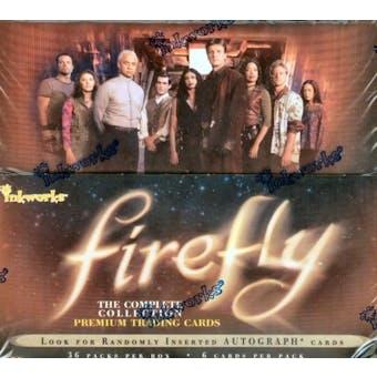 Firefly Trading Cards Box (2006 Inkworks)