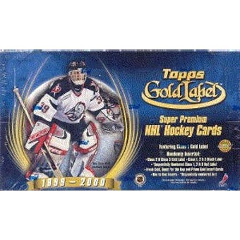 1999/00 Topps Gold Label Hockey Hobby Box