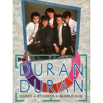 Duran Duran Wax Box (1985 Topps)