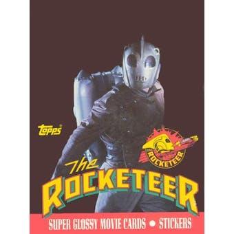 The Rocketeer Movie Wax Box (1991 Topps)