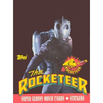 The Rocketeer Movie Wax Box (1991 Topps)