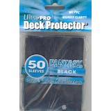 Ultra Pro Fantasy Black Standard Deck Protectors 50 Count Pack - Regular Price $4.99 !!!