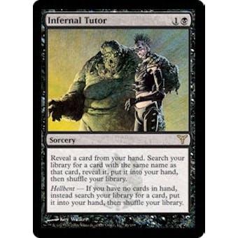 Magic the Gathering Dissension Single Infernal Tutor - NEAR MINT (NM)