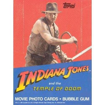 Indiana Jones & the Temple of Doom Wax Box (1984 Topps)