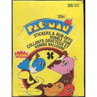 Pac-Man Wax Box (1980 Fleer)