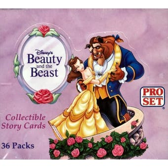 Beauty and the Beast Wax Box (1992 Pro Set)